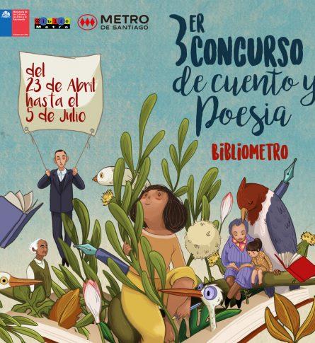 """Ganadores """"Tercer concurso de Cuento y Poesía Bibliometro"""""""
