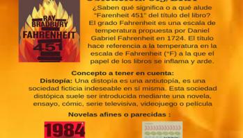 BiblioNota N° 1 /Novelas Distópicas