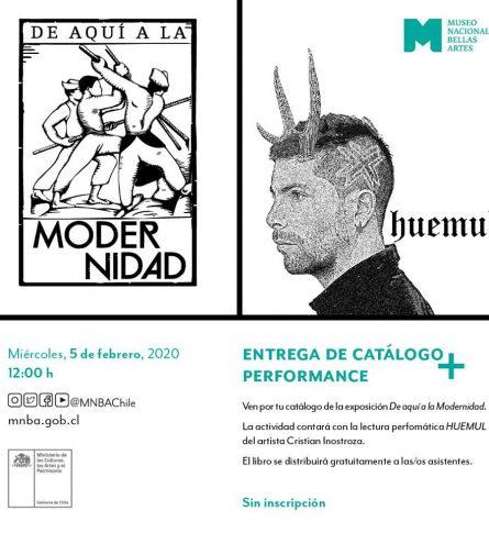 Entrega catálogo | Exposición De aquí a la modernidad