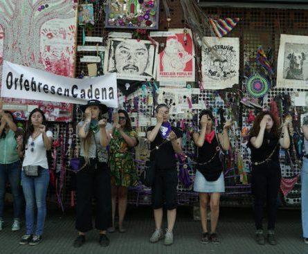 """Obra colectiva """"Orfebres en Cadena"""" en Museo de la Memoria"""