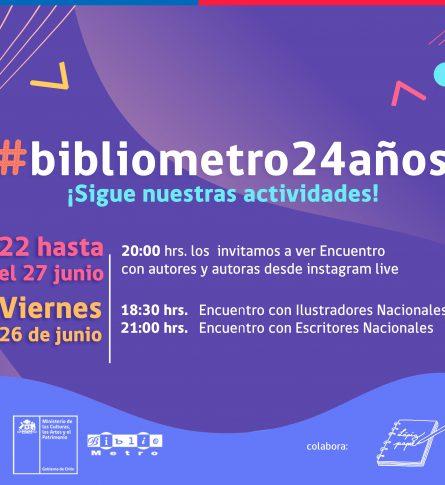 Bibliometro 24 años