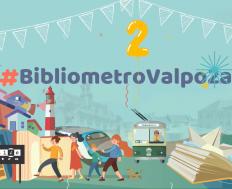 Bibliometro celebrará en línea su segundo aniversario en la Región de Valparaíso