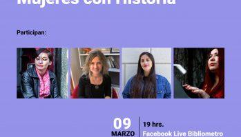 """Encuentro Virtual """"Mujeres con Historia"""""""