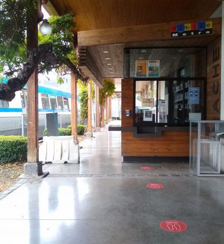 Reapertura gradual de Bibliometro Valparaíso