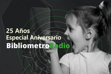 BibliometroRadio E.10 25 Años